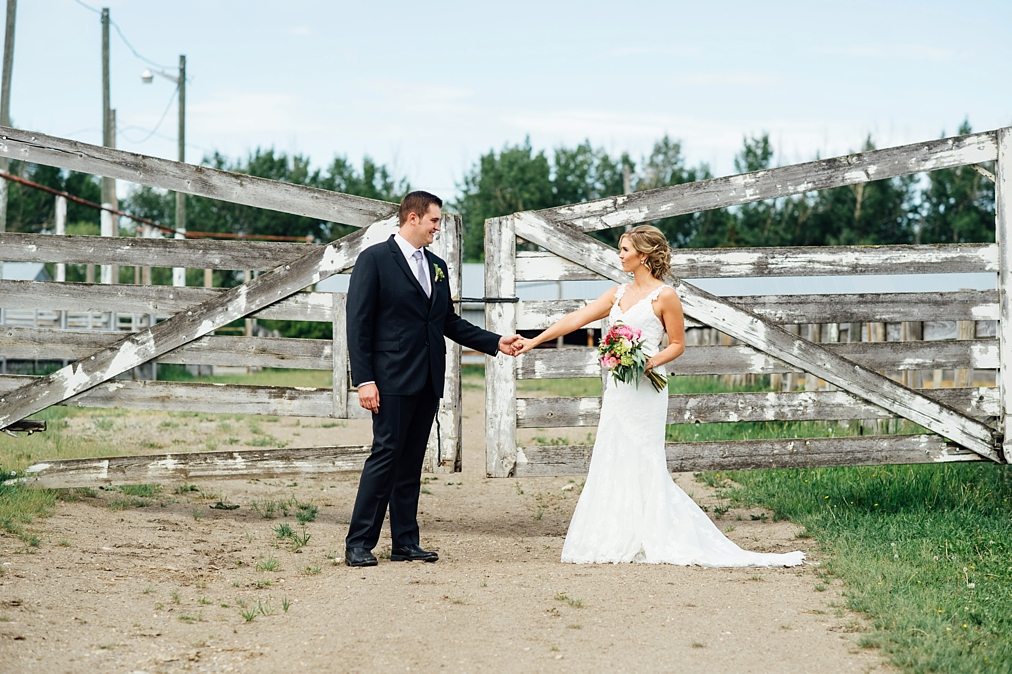 alberta farm wedding