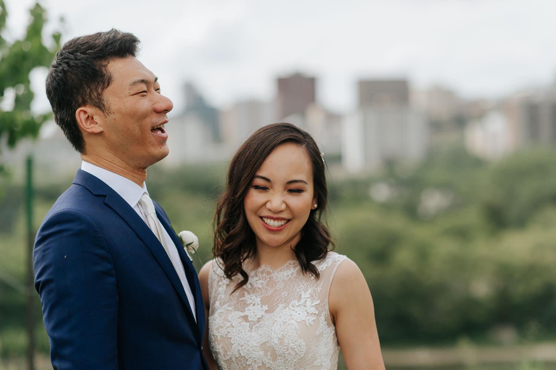 a modern proposal wedding