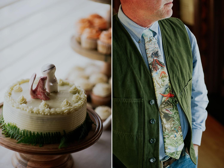 dinosaurs wedding