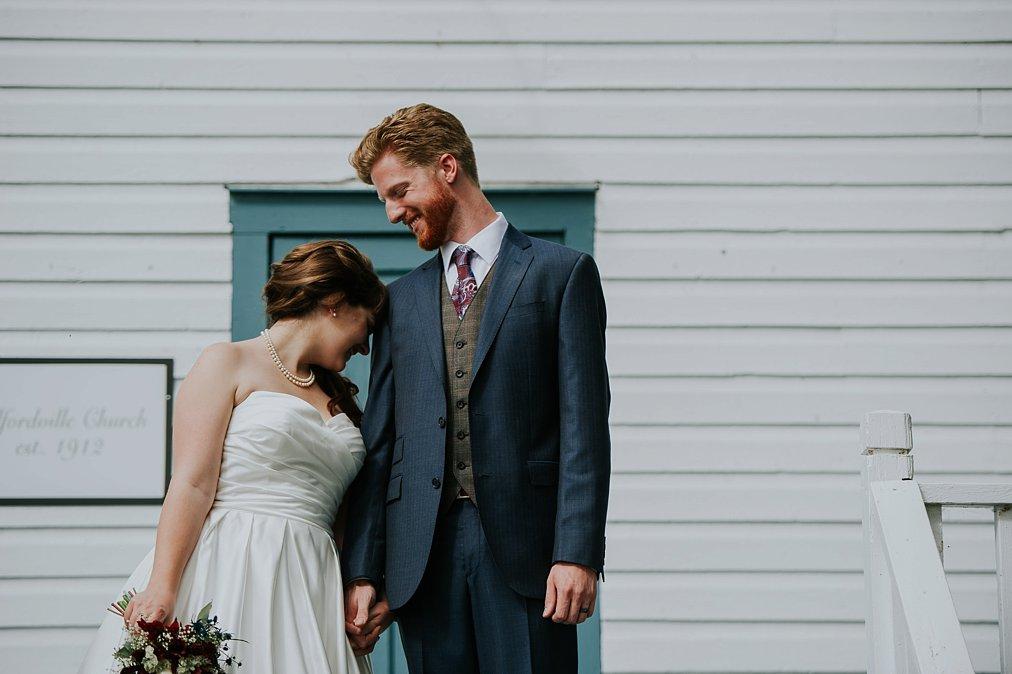Rundle mission wedding