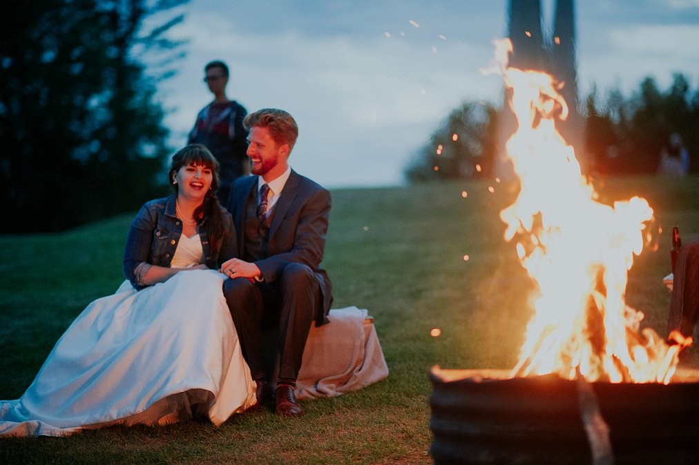 wedding bonfire