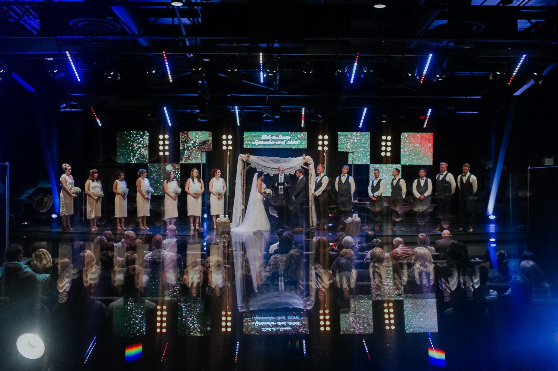 celebration church wedding
