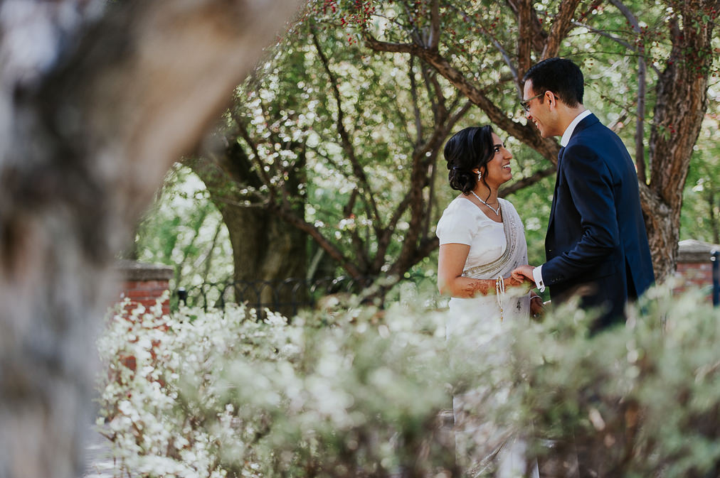 edmonton cherry blossom wedding