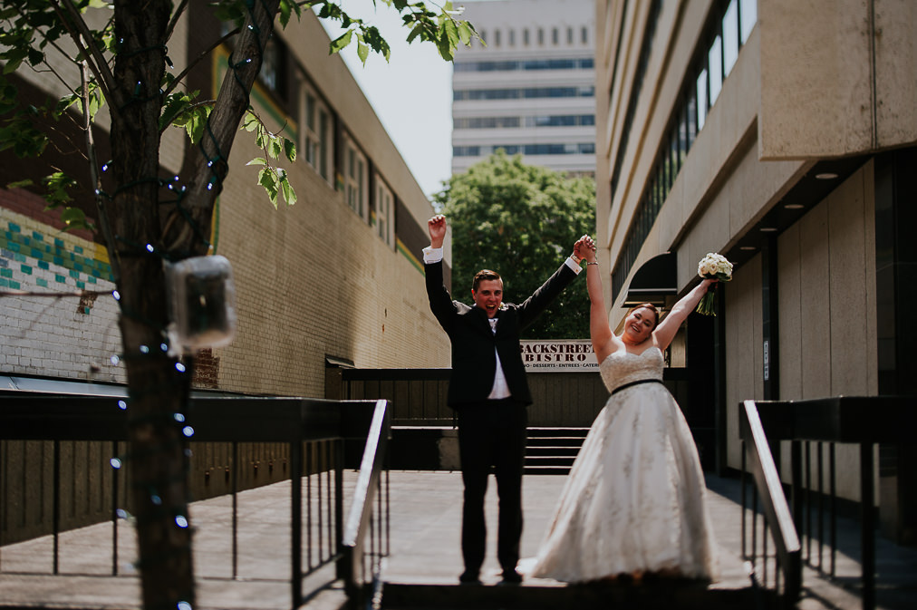 edmonton urban wedding