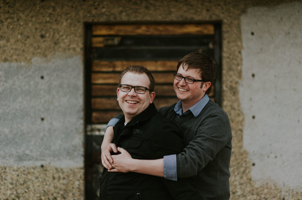 edmonton same sex wedding photographer