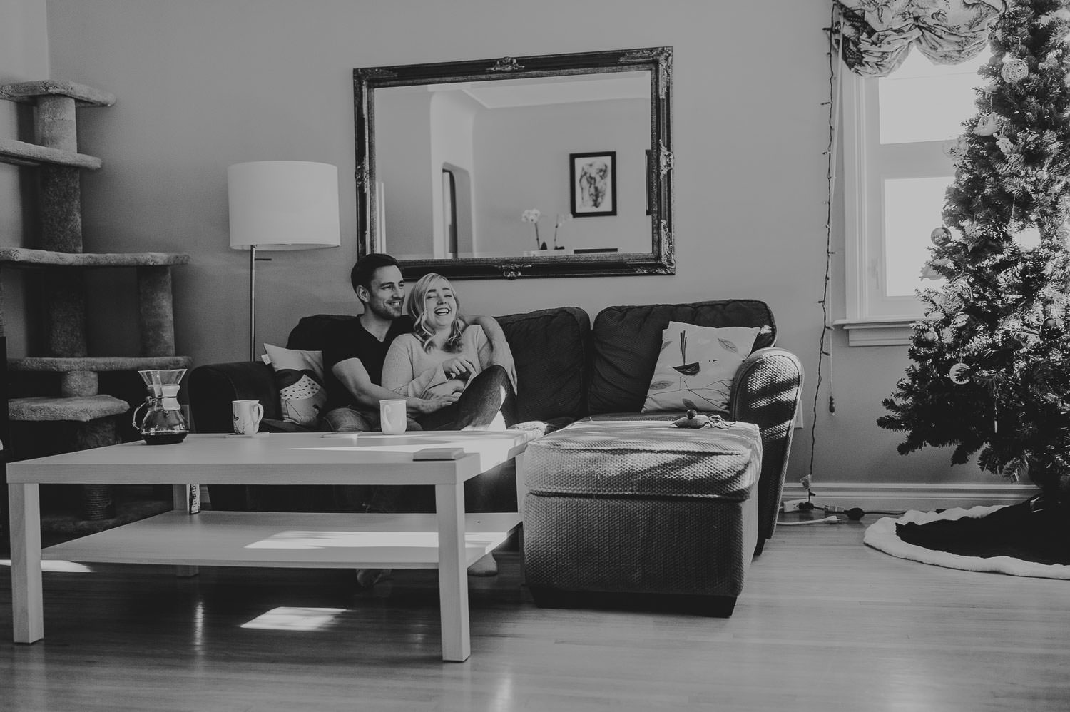 in home engagement session