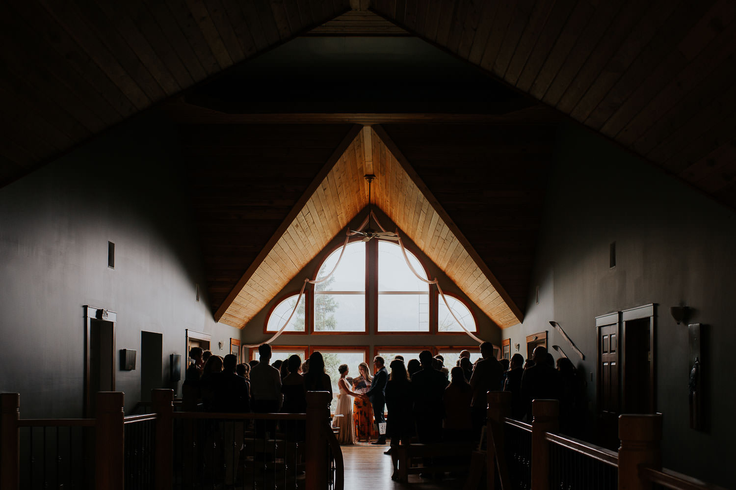 elk view lodge wedding ceremony