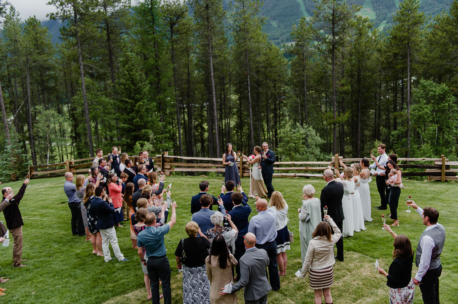 elk view lodge wedding