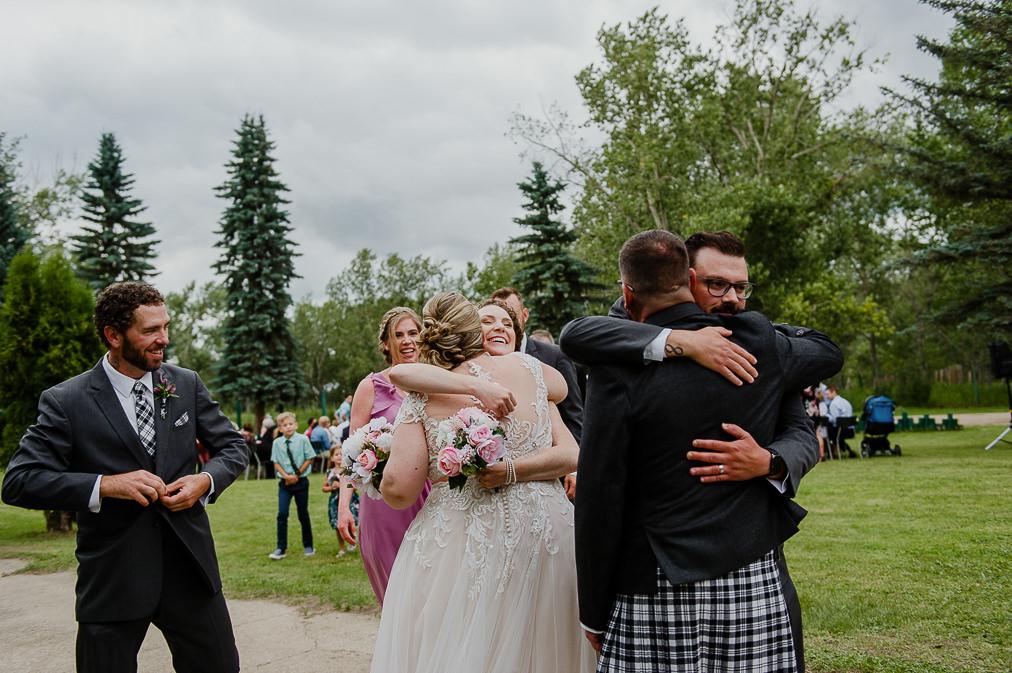 lily lake resort wedding ceremony